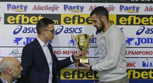 Тихомир Желев: Наградата Отбор на месеца е чест