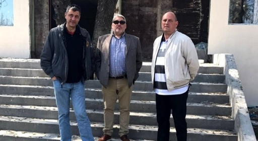 Гергов, Чакмаков и Барчовски се запознаха с работата по новата зала