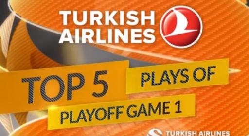 Топ 5 изпълнения от първия кръг на плейофите в Евролигата (видео)