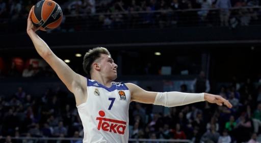 Избраха Лука Дончич за най-добър млад играч в Испания