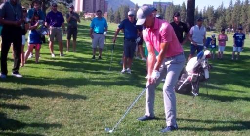 Стеф Къри показа умения и в голфа