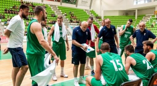 Гледайте на живо с BGbasket.com първия мач на националите