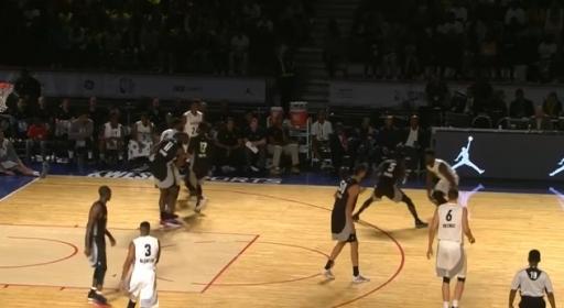 Най-доброто от двата отбора в NBA Africa Game (видео)