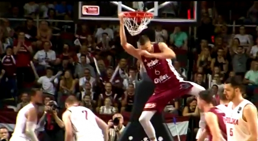 Кристапс блести за Латвия в контрола (видео)