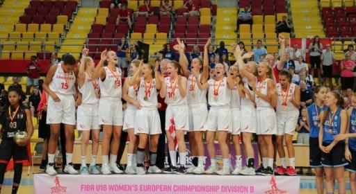 Дания спечели титлата в Дивизия B при момичетата (16) след трилър