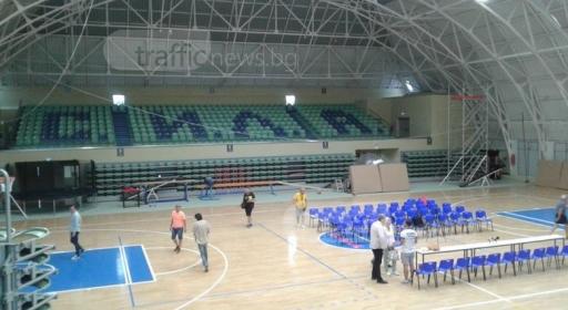 Чисто нова зала за 1700 души за Академик Бултекс 99