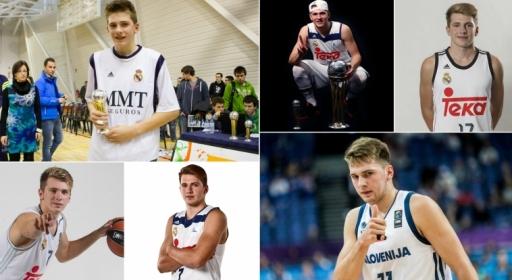 Пътят на Лука Дончич (видео)