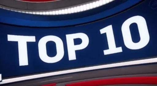 Топ 10 изпълнения от мачовете в НБА снощи (видео)