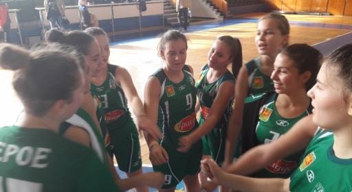Девойките на Берое с две победи в Бургас