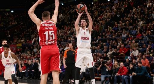 ЦСКА Москва се върна на победния ход