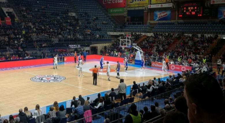 Партизан отпразнува мач №400 на Новица Величкович с победа