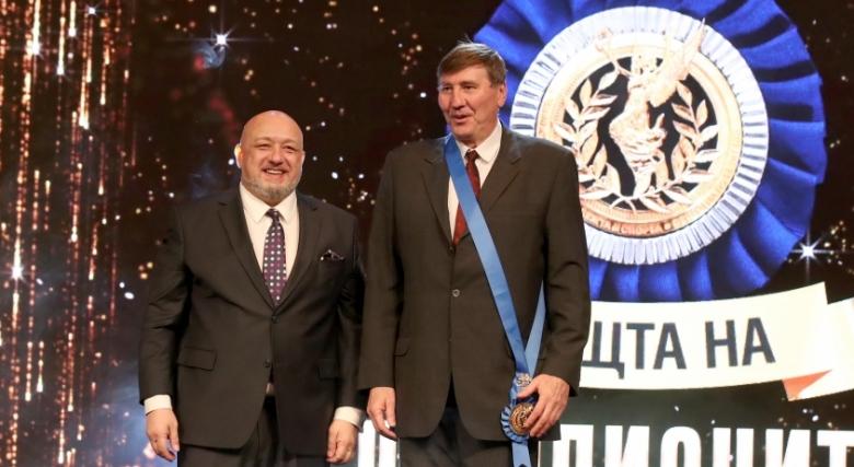Георги Глушков получи най-високо държавно отличие в спорта - Венец на победителя