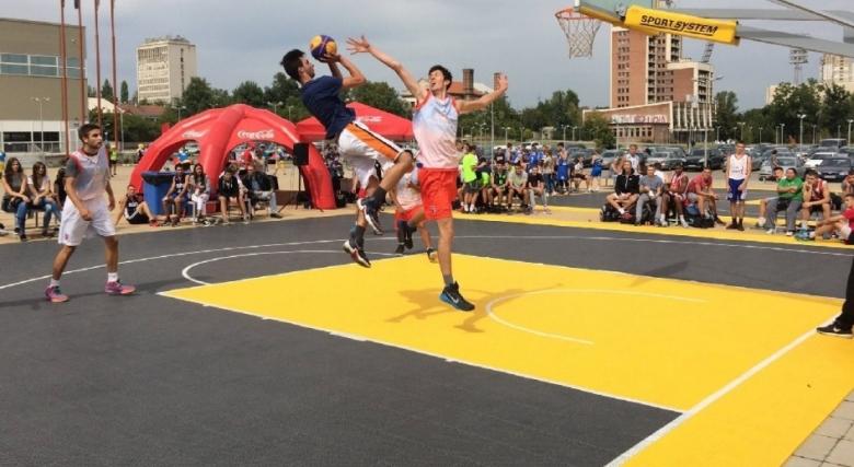Баскетбол 3x3, брейк шоу, стрийт фитнес и паркур в Ърбан зоната тази неделя