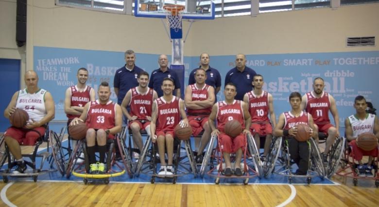 Обявиха състава на националния отбор по баскетбол на колички за контролите с Гърция