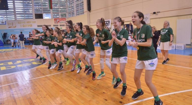 Крайно класиране на Държавното първенство за момичета U12