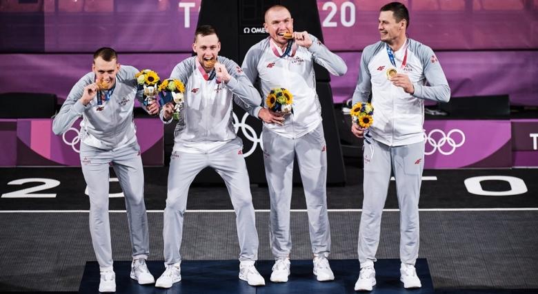 Латвия и САЩ са първите олимпийски шампиони по баскетбол 3х3