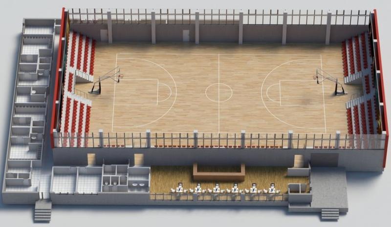 ЦСКА получи зелена светлина за нова баскетболна зала