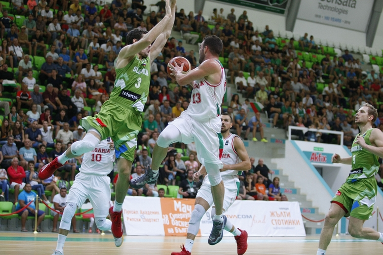 Excellent Bulgaria fell a little short against Slovenia