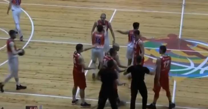 Инцидентите на БУБА-ЦСКА от Суперлигата за юноши (видео)