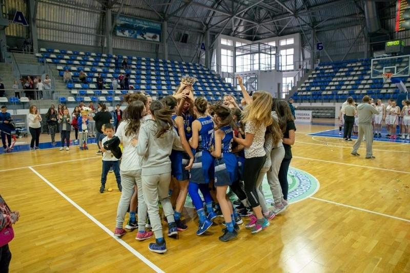 Крайно класиране на финалите за момичета U14