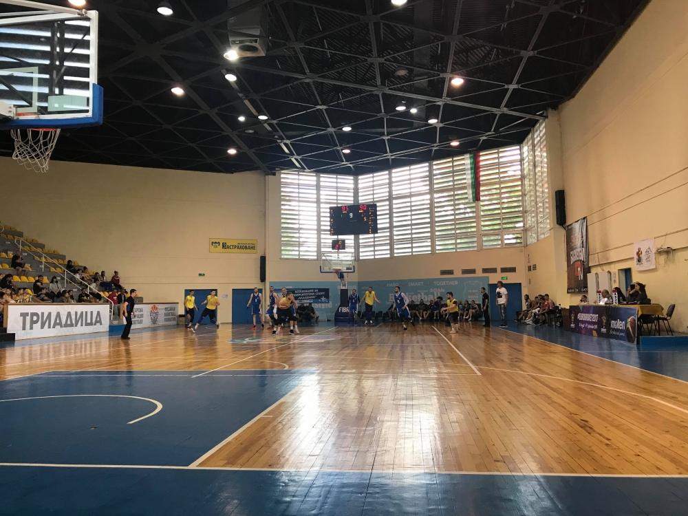 НСА срещу ВТУ на финала на мъжкия турнир от Универсиадата