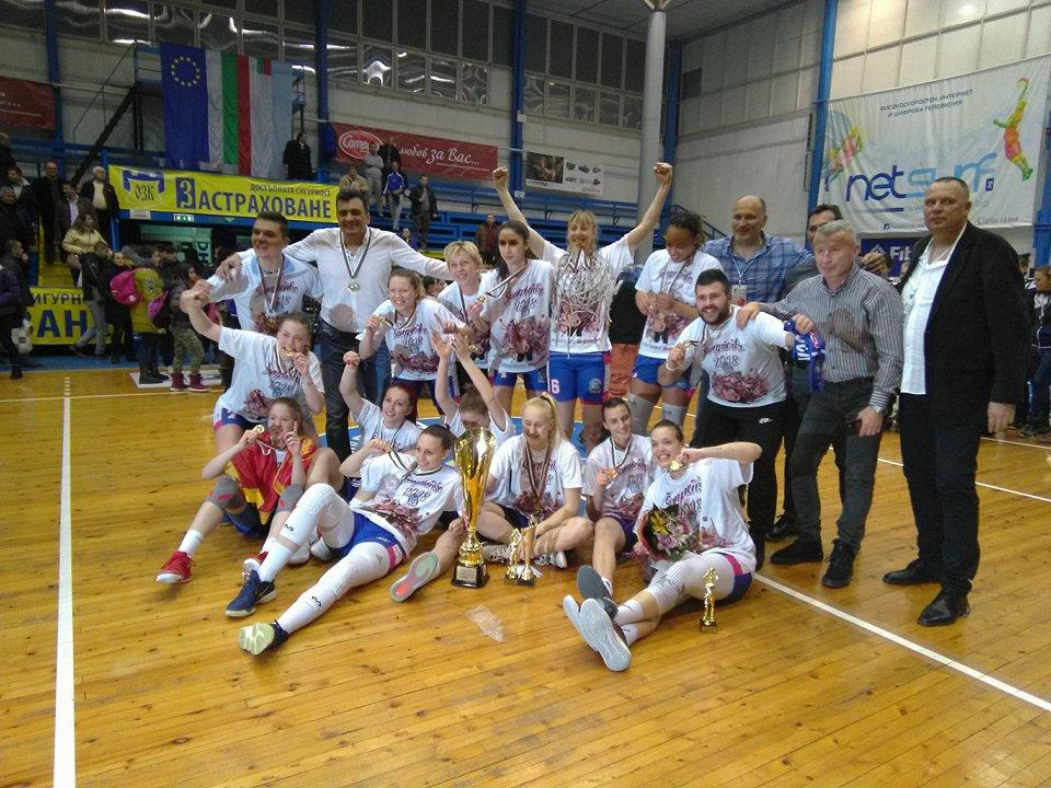 Будучност е новият шампион в Адриатическата лига за жени