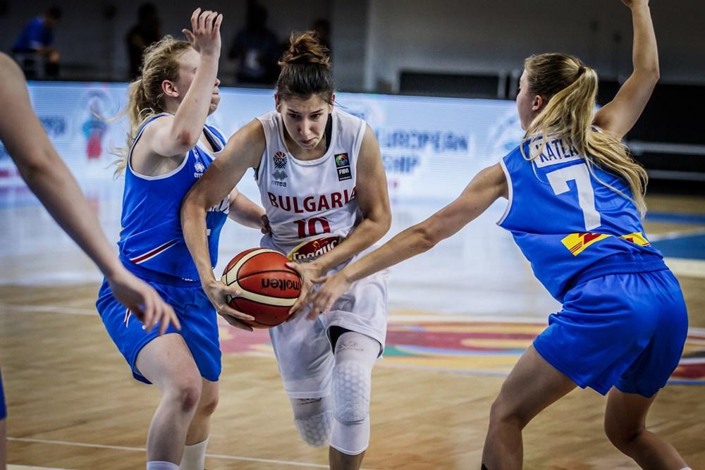 Фотогалерия от мача България - Исландия при жените U20
