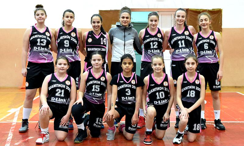 Изгониха пет момичета от един отбор на финалите U14