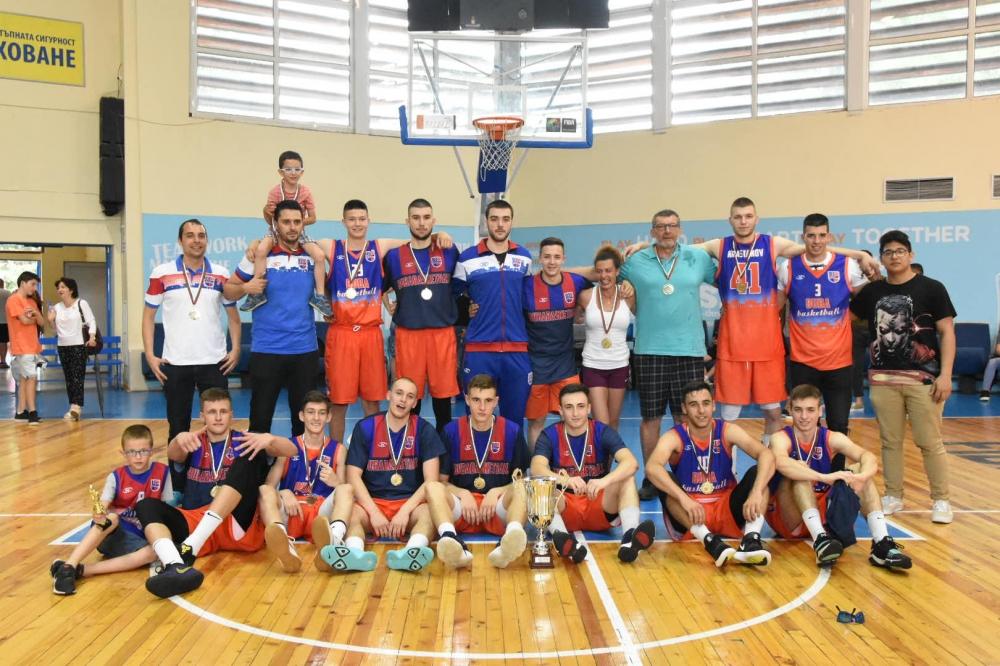 БУБА отново е шампион за юноши U19