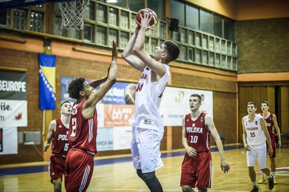 България U16 изпусна Полша в края