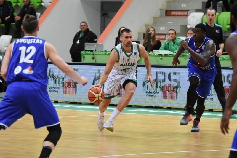 Победа за Балкан в последния европейски мач за сезона