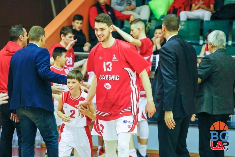 Пета победа за Академик София след 40 точки на Чернокожев