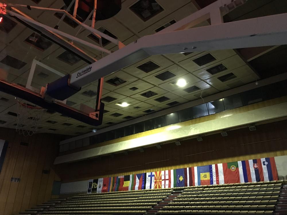 Зала Универсиада блесна готова за Евробаскет U20 (галерия)