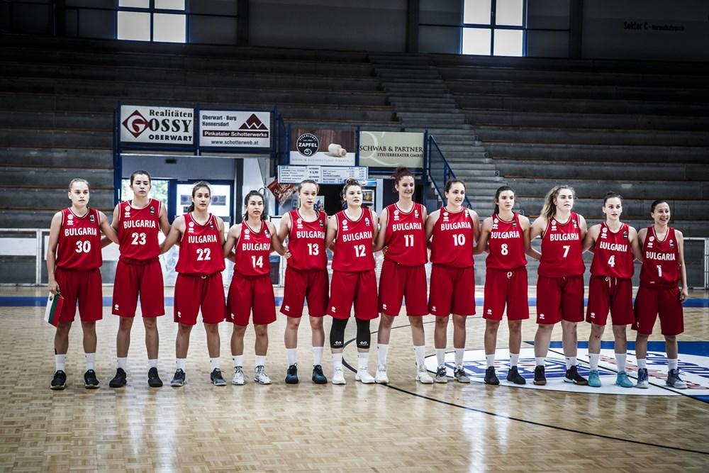 Девойките U18 не успяха да преборят Гърция