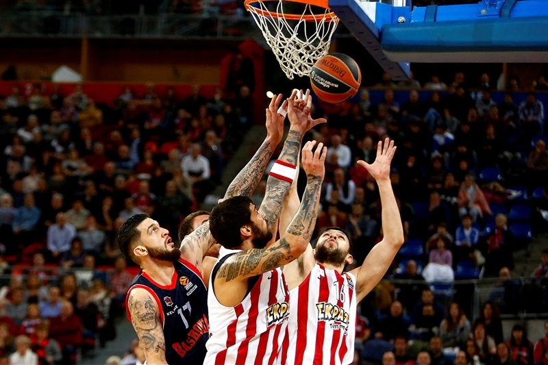 Баскония разби Олимпиакос