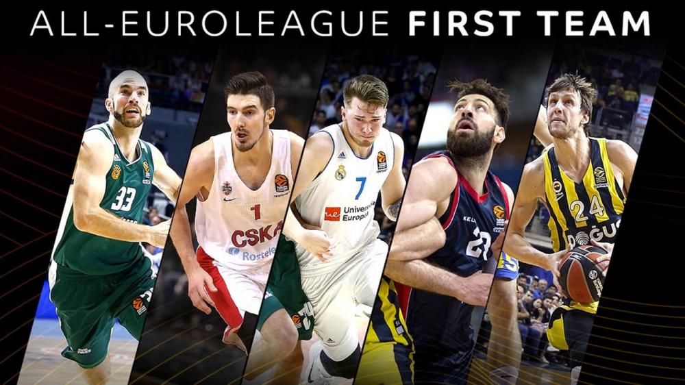Кой попадна в Идеалните състави на Евролигата за сезон 2017-18
