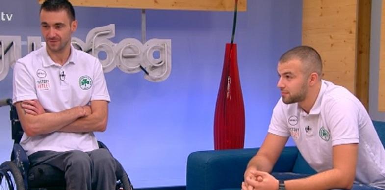Георги Иванов завърши осми в първенството на Италия по баскетбол на колички
