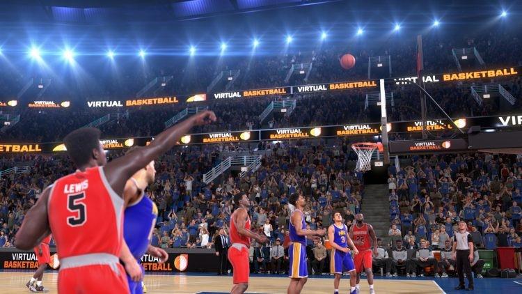Залози на виртуален баскетбол привличат клиентите в букмейкърите