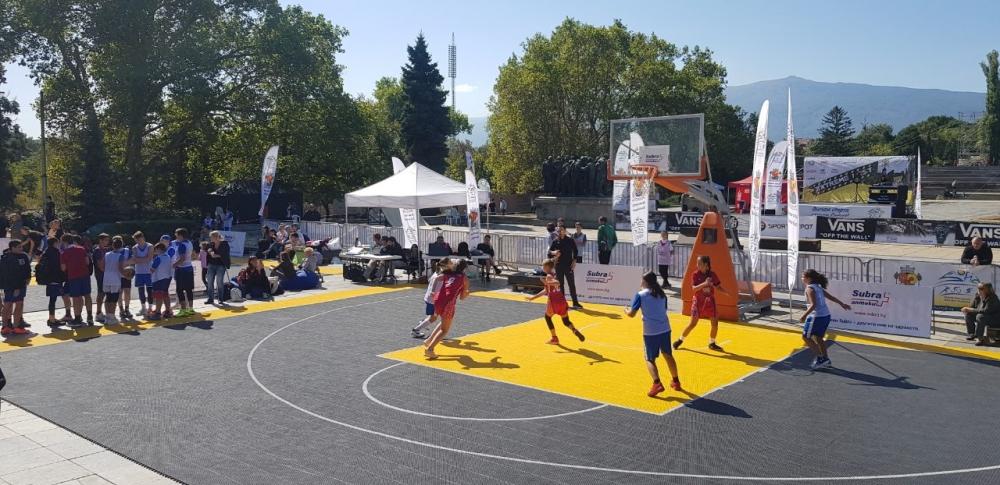 Над 200 души се включиха в 3х3 турнира в София