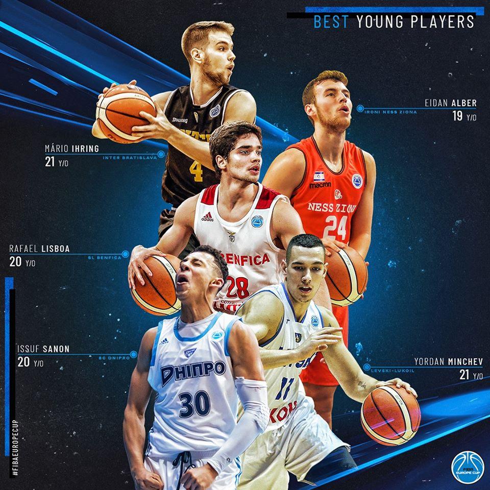 Йордан Минчев сред най-добрите млади играчи във ФИБА Къп