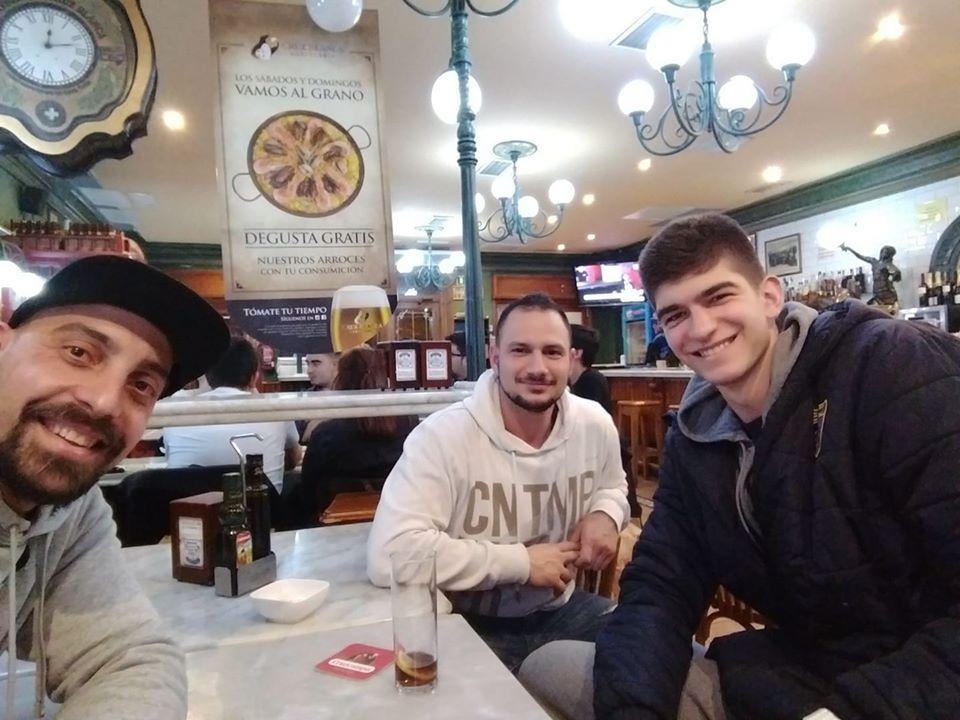 Треньорите на ЦСКА U16 се срещнаха с Емил Стоилов в Мадрид