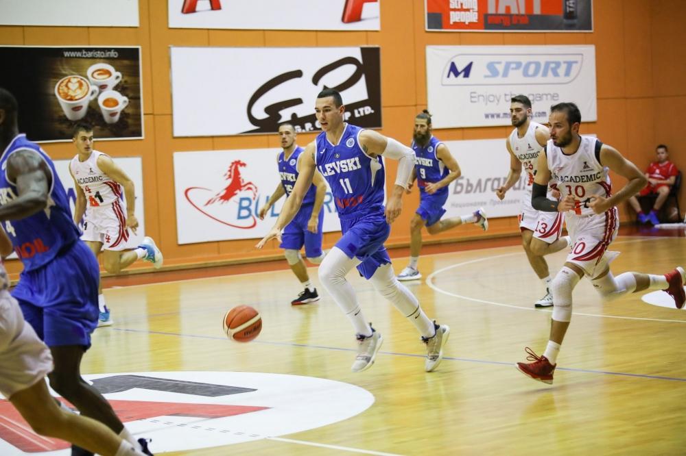 Академик София издържа само четвърт час срещу Левски Лукойл