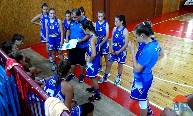 Дунав и Доростол си осигуриха място в Топ 4 при момичетата U16 (снимки)