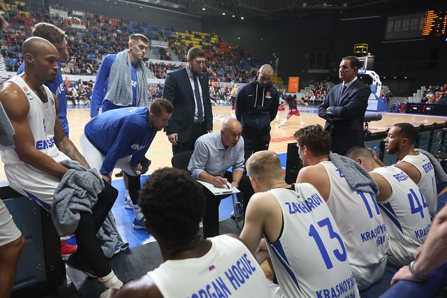 Енисей идва в Ботевград след победа във ВТБ Лигата
