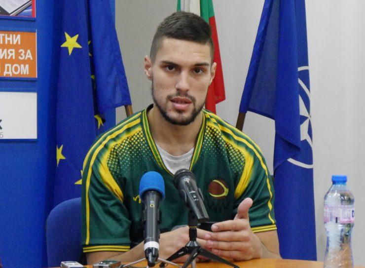 Николай Николов: Шумен ме изненада приятно, надявам се да вкараме повече хора в залата