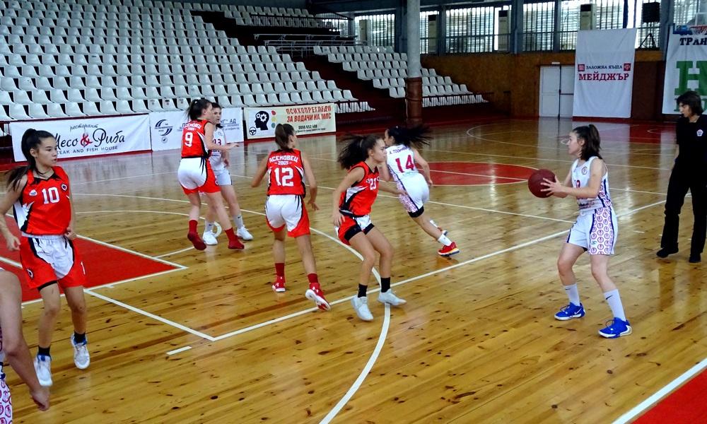 Шампион 2006 и Светкавица ще играят за петото място при момичетата U16 (снимки)