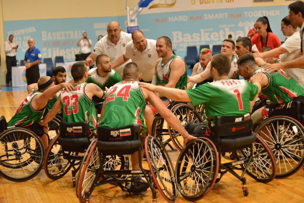 Националите на колички ще играят на турнир в Барселона