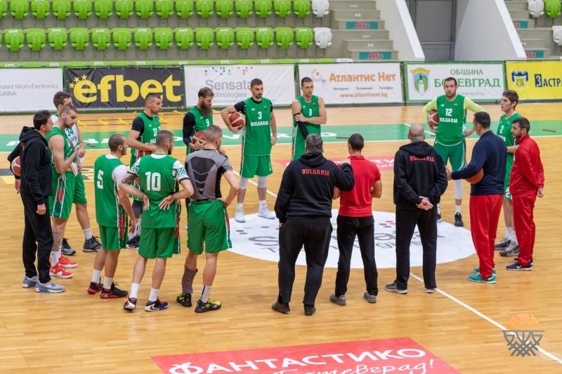 Барчовски се спря на 21 баскетболисти за мачовете в Сараево