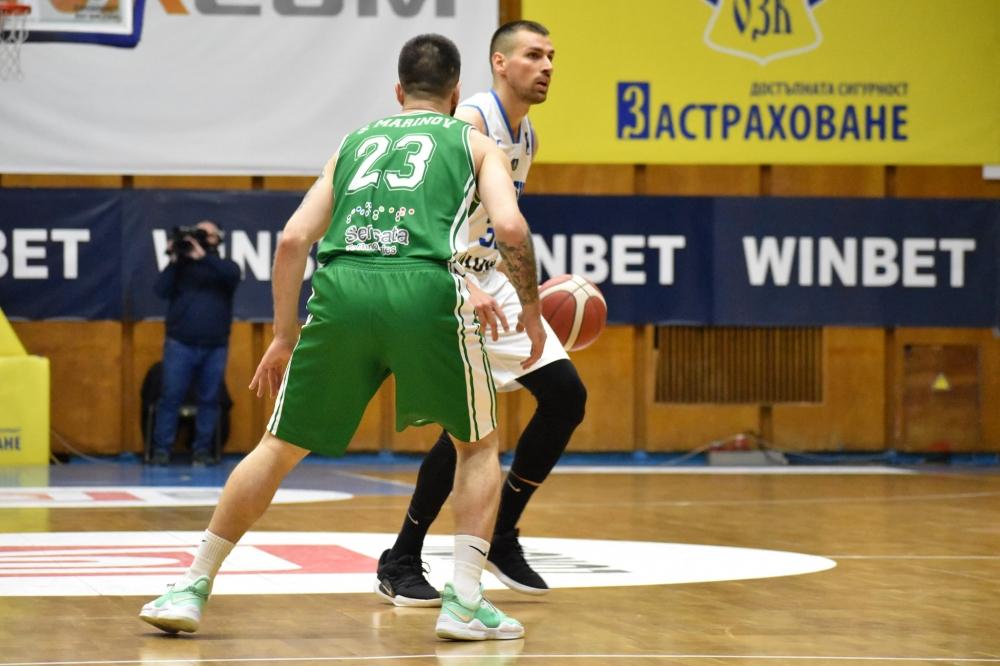 Левски Лукойл остави Балкан трети в редовния сезон