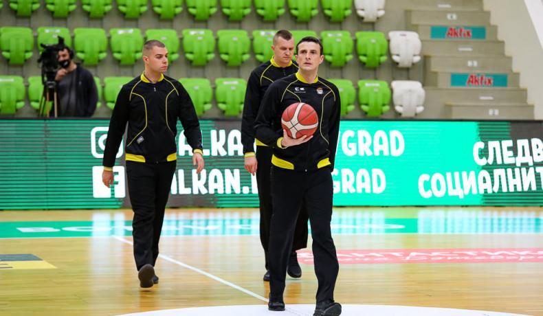 Венцислав Великов начело на реферите за втория полуфинал